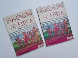 2 manuales de educación física