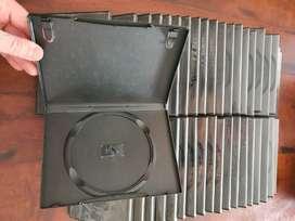 Lote De Cajas box De Dvd Dobles, Simples, Cajas Finitas - Hurlingham