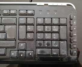 Mouse + Teclado marca HP SUPER PRECIO