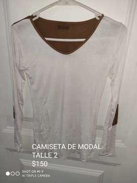 Camiseta de modal