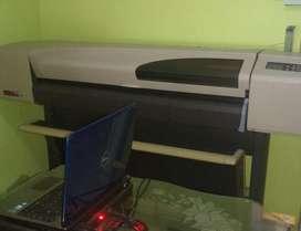 VENDO PLOTTER HP 500 DE 42 PULGADAS 106 CMS ANCHO IMPRESION