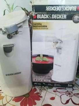 ABRELATAS ELÉCTRICO BLACK&DECKER NUEVO, usado segunda mano  Circunvalación