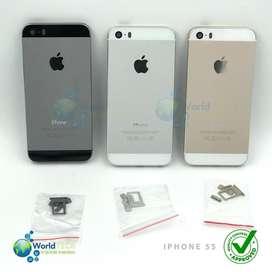 Carcasa Cover Iphone 5 5g 5s 5c Bisel Filos Tapa Case Origin