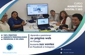 Curso de Marketing Digital en linea