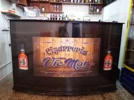 Barra mostrador bar