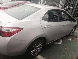 Ocasión! Toyota Corolla 2015  $13,300. A tratar. Dual Glp
