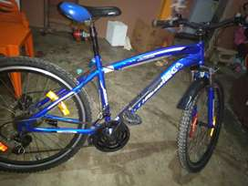 Bicicleta montañera Shimano omega