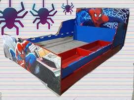 Cama spiderman