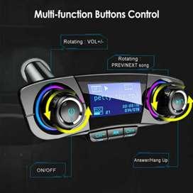 Transmisor de FM Bluetooth para auto,