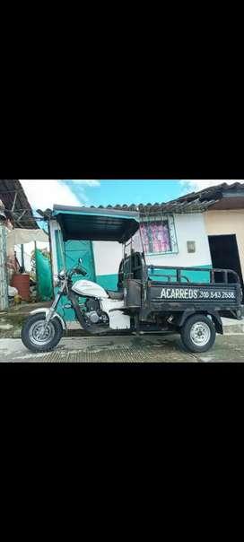 Moto Carro AKT CARGUERO