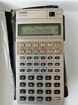 calculadora CasioFx-602p  programable