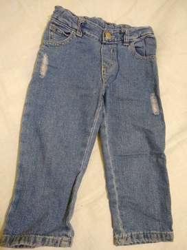 Pantalon chic chac jean azul 4 elást tipo gastado use 1 vez