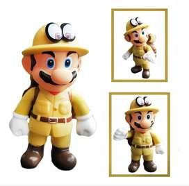 Figura Mario Bros Colección Mario Explorador Juguete