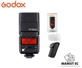 Flash Godox Thinklite Tt350 C Ttl Hss Para Canon + Difusor