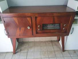 mueble modular combinado Tocadisco antiguo - belgrano