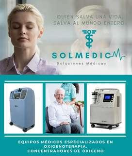 Concentrador de oxígeno SYSMED M50