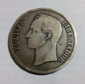 Bolívar de Plata 1924 (Moneda)