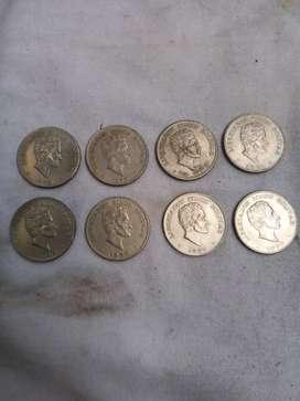 Monedas 50 centavos