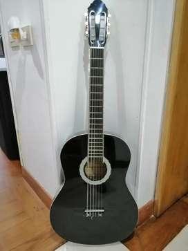 Guitarra Clásica Flamenco Negra