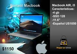 Portátil MacBook AIR i5