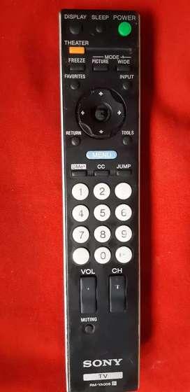 Control remoto Sony TV RM-YA008 usado