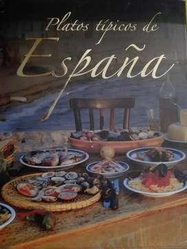 Libro Platos típicos de España