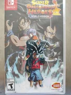 Videojuego Super Dragonball Heroes World Mission Nintendo Switch