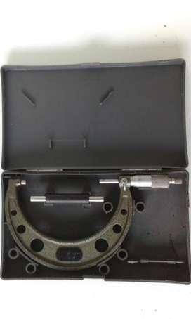 Micrometro Mitutoyo 100 125