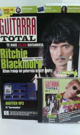 Revista Guitarra Total nro.4 con Cd. Importada