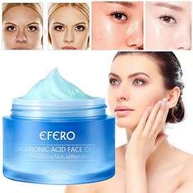 Crema blanqueadora facial, ácido hialurónico, crema hidratante antiedad , cuidado de la piel