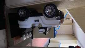 Carro de batería doble puesto