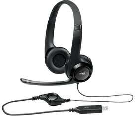 Diadema Logitech H390 Usb Con Audio Digital Mejorado