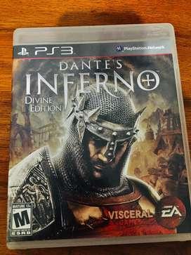 Dante infierno (juego basado en el libro de la divina comedia )