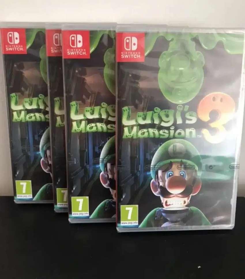 Luigi's Mansión 3 Nuevo Nintendo Switch