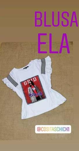 Camiseta Ela