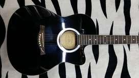 extravagante guitarra memphis electro acusticacuerdas de metal