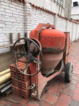 Trompo de concreto 1 1/2 a gasolina