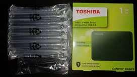 Disco de almacenamiento externo Toshiba 1 Tera