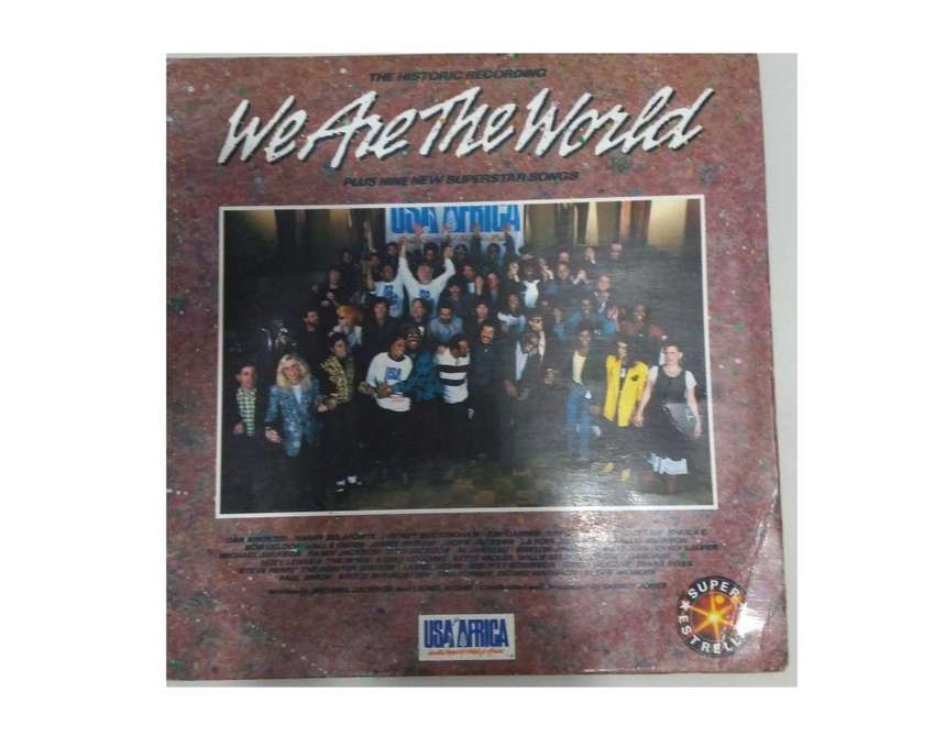 Usa For Africa We Are The World Vinilo 0