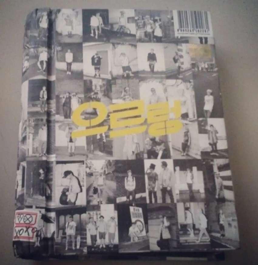 EXO- 1er Álbum Growl+ Photocard