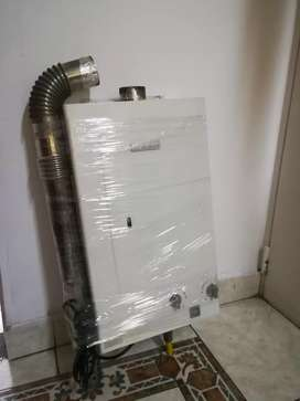Calentador a gas natural bosh de 12 litros