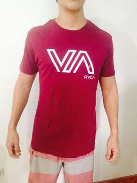camisetas vintage RVCA slim fit