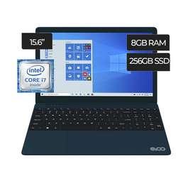 Laptop Core I7 Evoo, 8gb, SSD 256gb