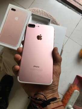 Iphone 7plus como nuevo rous