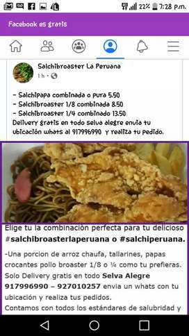 Salchibroaster la Peruana