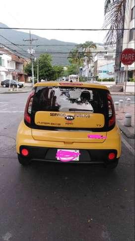 venta de taxi kia con cupo