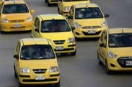 Busco conductores taxi en  Bogotá