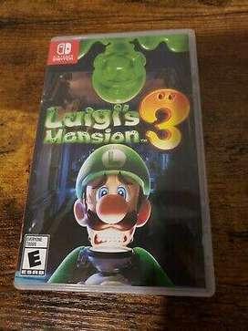 Luigis Mansion 3 juego Nintendo Switch $44,99