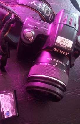 Camara sony alpha A35