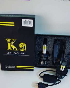 Led H4 280w K9 full led 360 grados 28000 lúmenes